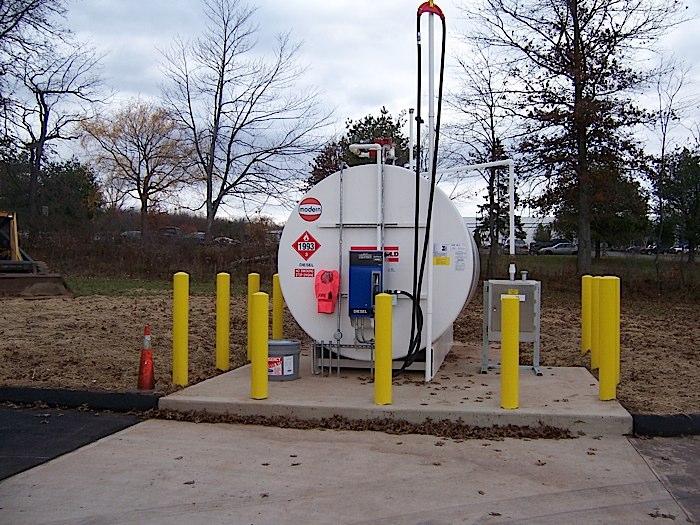 aboveground fuel tanks